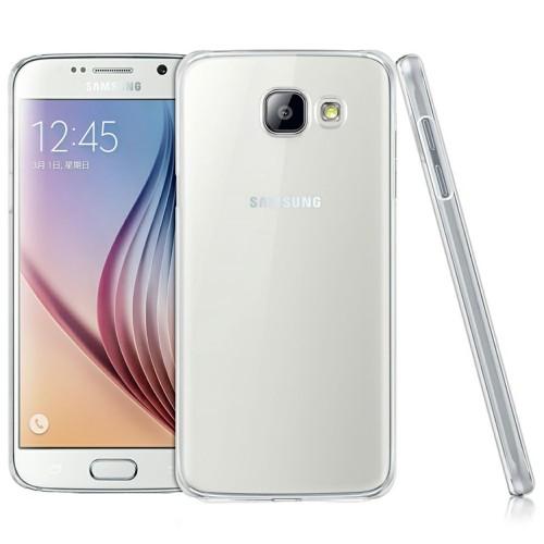 Силиконовый чехол UltraThin Samsung Galaxy A7 (2016) A710F (прозрачный)