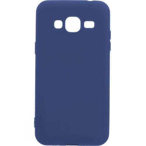 Силикон iNavi Color Samsung Galaxy J5 (2015) J500 (темно-синий)