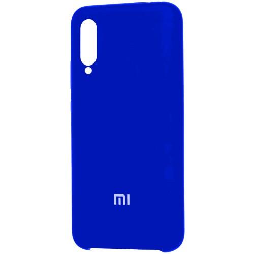 Силиконовый чехол Original Case Xiaomi Mi9 SE (Тёмно-синий)