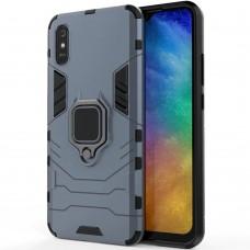 Бронь-чехол Ring Armor Case Xiaomi Redmi 9A (Пыльная бирюза)