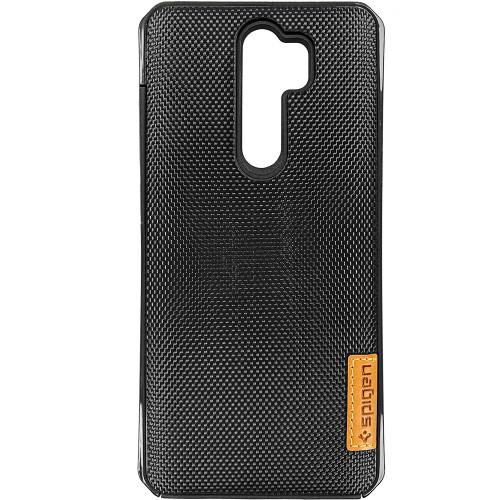 Накладка Spigen Grid Xiaomi Redmi Note 8 Pro (Черный)