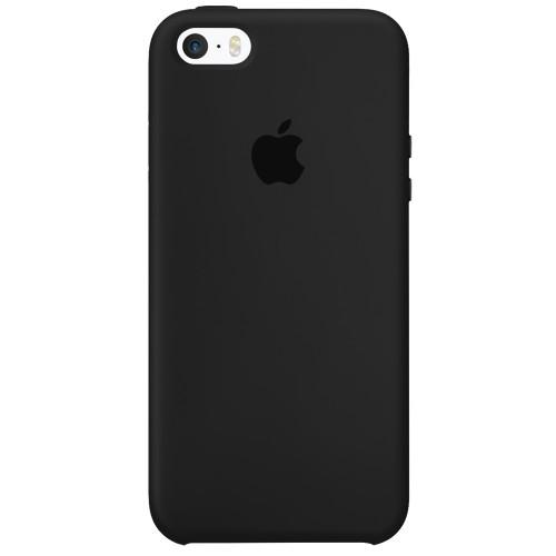 Силиконовый чехол Original Case Apple iPhone 5 / 5S / SE (07) Black