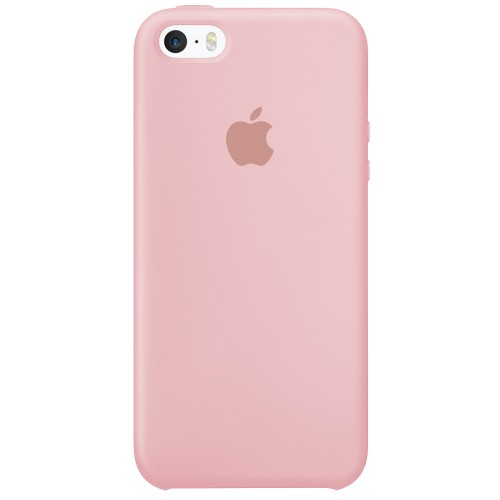 Силиконовый чехол Original Case Apple iPhone 5 / 5S / SE (08) Pink Sand