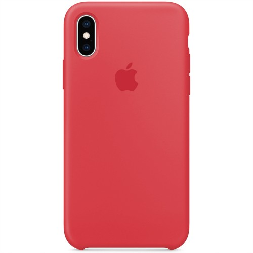 Силиконовый чехол Original Case Apple iPhone X / XS (24) Camelia