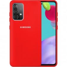 Силикон Original 360 Case Logo Samsung Galaxy A52 (2021) (Красный)