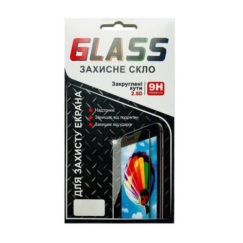 Защитное стекло универсальное 4.9 (с вырезом под кнопку)