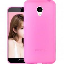 Силикон Original Meizu M3 Note (Pink)
