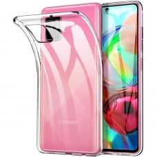 Силикон WS Samsung Galaxy A71 (2020) (прозрачный)