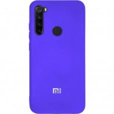 Силикон Original Case (HQ) Xiaomi Redmi Note 8 (Фиолетовый)