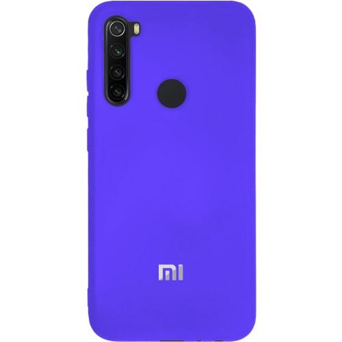 Силиконовый чехол Original Case (HQ) Xiaomi Redmi Note 8 (Фиолетовый)