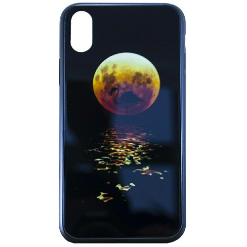 Накладка Luminous Glass Case Apple iPhone XR (Moon)