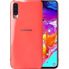 Силикон Zefir Case Samsung Galaxy A70 (2019) (Розовый)