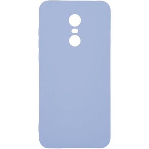 Силиконовый чехол iNavi Color Xiaomi Redmi 5 Plus (фиолетовый)