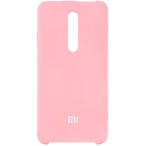 Силикон Original 360 Case Logo Xiaomi Redmi MI9T / K20 Pro (Розовый)
