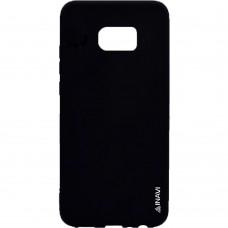 Силикон iNavi Color Samsung Galaxy S7 (Черный)