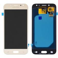 Дисплейный модуль Samsung J5 (2017) J530 (Gold)