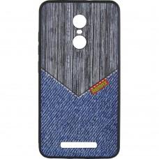 Силиконовый чехол Remax Gentelman Xiaomi Redmi Note 3 / Note 3 Pro (Jeans RM-279)