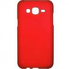 Силикон Buenos Samsung J1 (2016) J120 (красный)