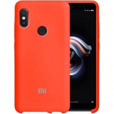 Силиконовый чехол Original Case Xiaomi Redmi Note 5 / Note 5 Pro (Оранжевый)