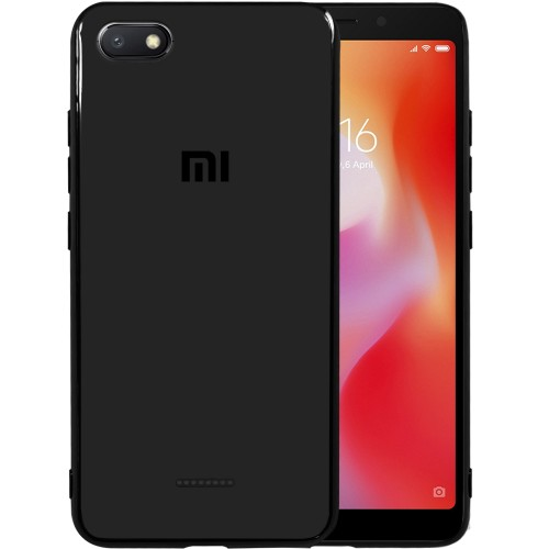 Накладка Glass Case Xiaomi Redmi 6A (черный)