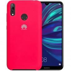 Силиконовый чехол Original Case Huawei Y7 (2019) (Малиновый)