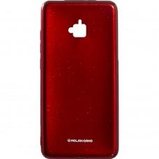 Силиконовый чехол Molan Shining Huawei Y6 Pro (Красный)