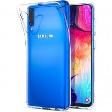 Силикон WS Samsung Galaxy A7 (2018) A750 (прозрачный)