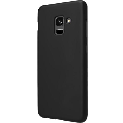 Силиконовый чехол Graphite Samsung Galaxy A8 (2018) A530 (черный)