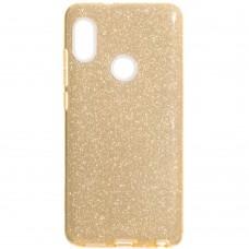 Силиконовый чехол Glitter Xiaomi Mi6x / Mi A2 (Золотой)
