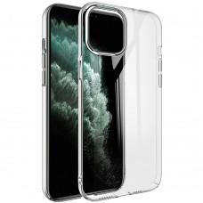 Чехол Original Round Clear Case Apple iPhone 12 / 12 Pro (Прозрачный)
