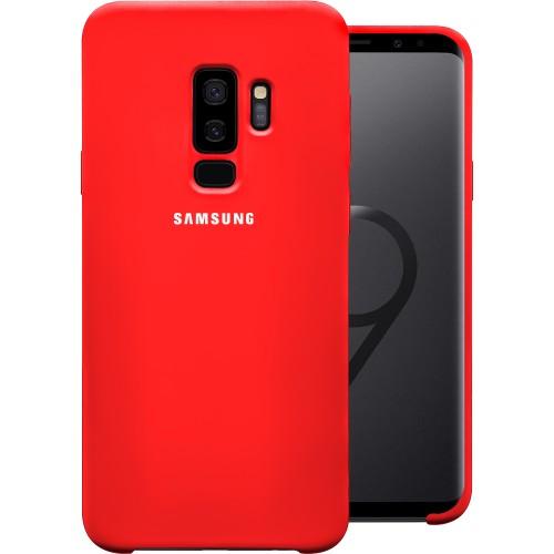 Силиконовый чехол Original Case (HQ) Samsung Galaxy S9 Plus (Красный)