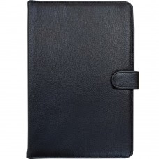 Чехол-книжка Universal Leather Pad 10 (Чёрный)