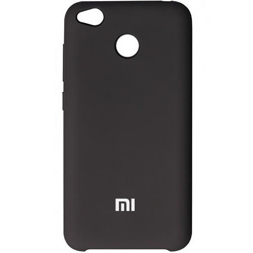 Силикон Original Case Xiaomi Redmi 4x (Чёрный)