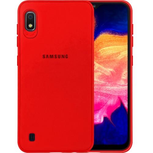 Силиконовый чехол Junket Case Samsung Galaxy A10 (2019) (Красный)