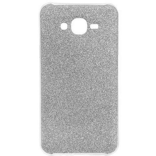 Силиконовый чехол Glitter Samsung Galaxy J5 (2015) J500 (серебрянный)