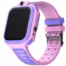 Детские смарт-часы Smart Baby Watch T16 (Violet-Pink)