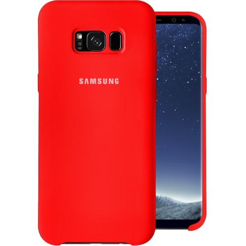 Силиконовый чехол Original Case (HQ) Samsung Galaxy S8 Plus (Красный)