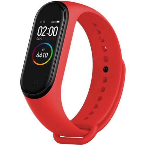 Ремешок Original Design Xiaomi Mi Band 3 / Mi Band 4 (Красный)