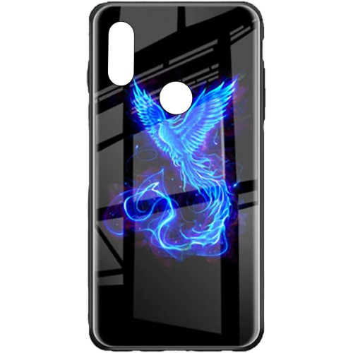 Накладка Luminous Glass Case Xiaomi Redmi Note 7 (Phoenix)