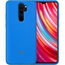 Силикон Original Case Xiaomi Redmi Note 8 Pro (Синий)