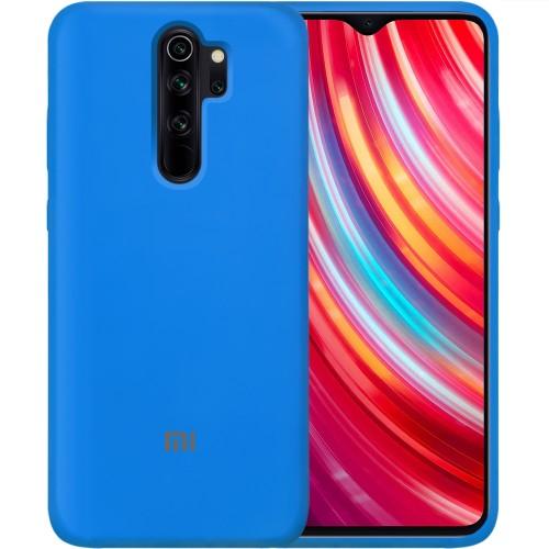 Силикон Original 360 Case Logo Xiaomi Redmi Note 8 Pro (Синий)