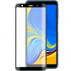 Защитное стекло для Samsung Galaxy A7 (2018) A750 Black