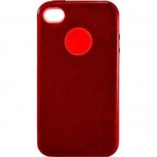 Силикон SHINE Apple iPhone 4 / 4s (красный)