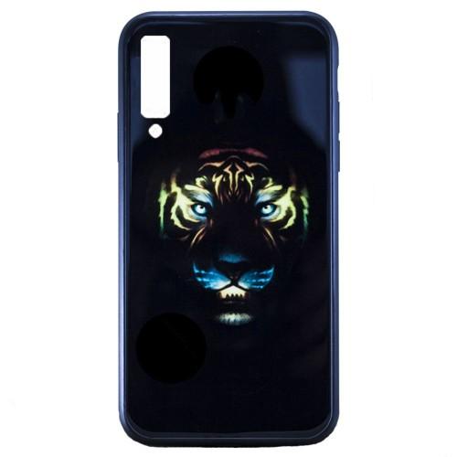 Накладка Luminous Glass Case Samsung A7 (2018) A750 (Tiger)