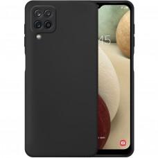 Силикон Wave Case Samsung Galaxy A12 (2020) (Чёрный)