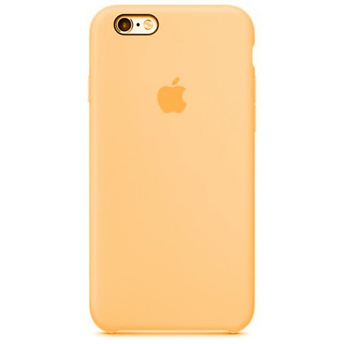 Силикон QU Case Apple iPhone 6 / 6s (Золотой)