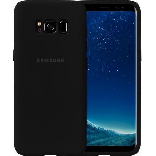 Силиконовый чехол Original Case Samsung Galaxy S8 (Чёрный)
