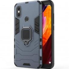 Бронь-чехол Ring Armor Case Xiaomi Mi Max 2 (Пыльная бирюза)