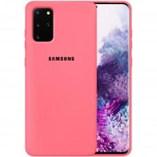 Силикон Original Case Samsung Galaxy S20 Plus (Клубничный)