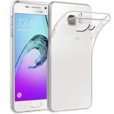 Силиконовый чехол QU Case Samsung Galaxy A5 (2016) A510 (Прозрачный)